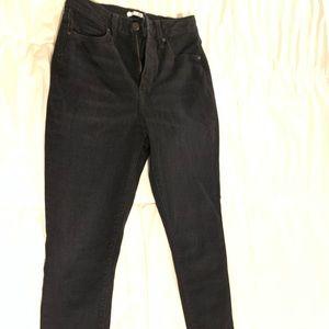Forever 21 basic black jeans